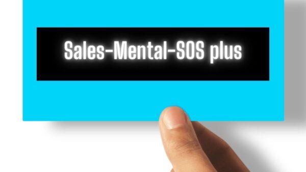 Sales-Mental-SOS plus - abonament wsparcia sprzedawców.